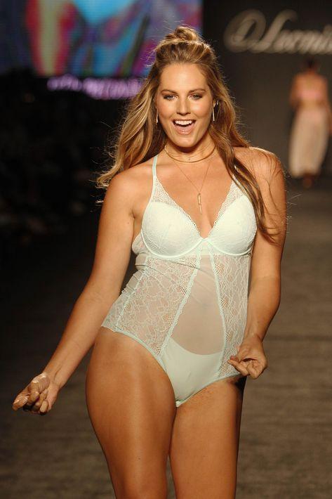 Leonisa celebra a la mujer real tras seleccionar modelos de diferentes tallas y estilos de cuerpo para representar la marca en Colombiamoda. (Agencia EFE)