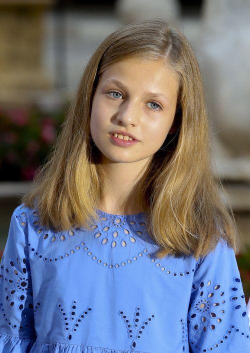 La princesa Leonor. (Foto: EFE)