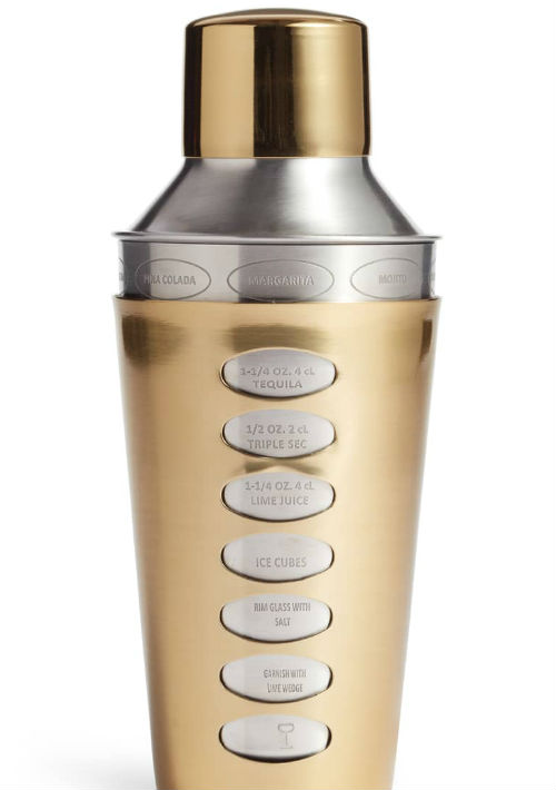 """""""Cocktail Shaker"""" con recetas de Nordstrom. (Foto: Suministrada)"""