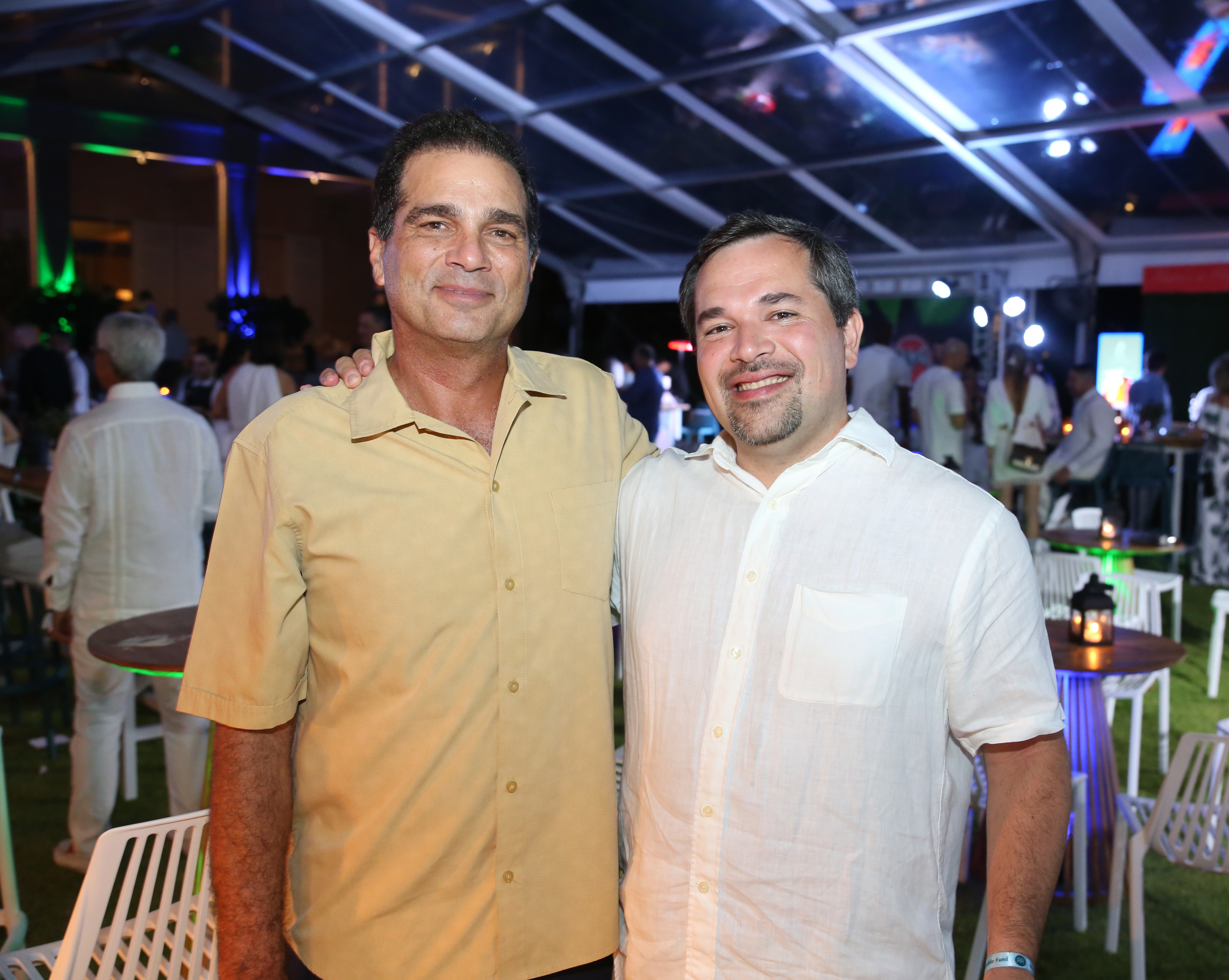 Carlos Nido e invitado. (José R. Pérez Centeno)