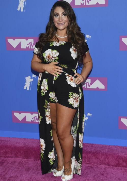 """Deena Nicole Cortese del  programa """"Jersey Shore"""" de MTV. (AP)"""