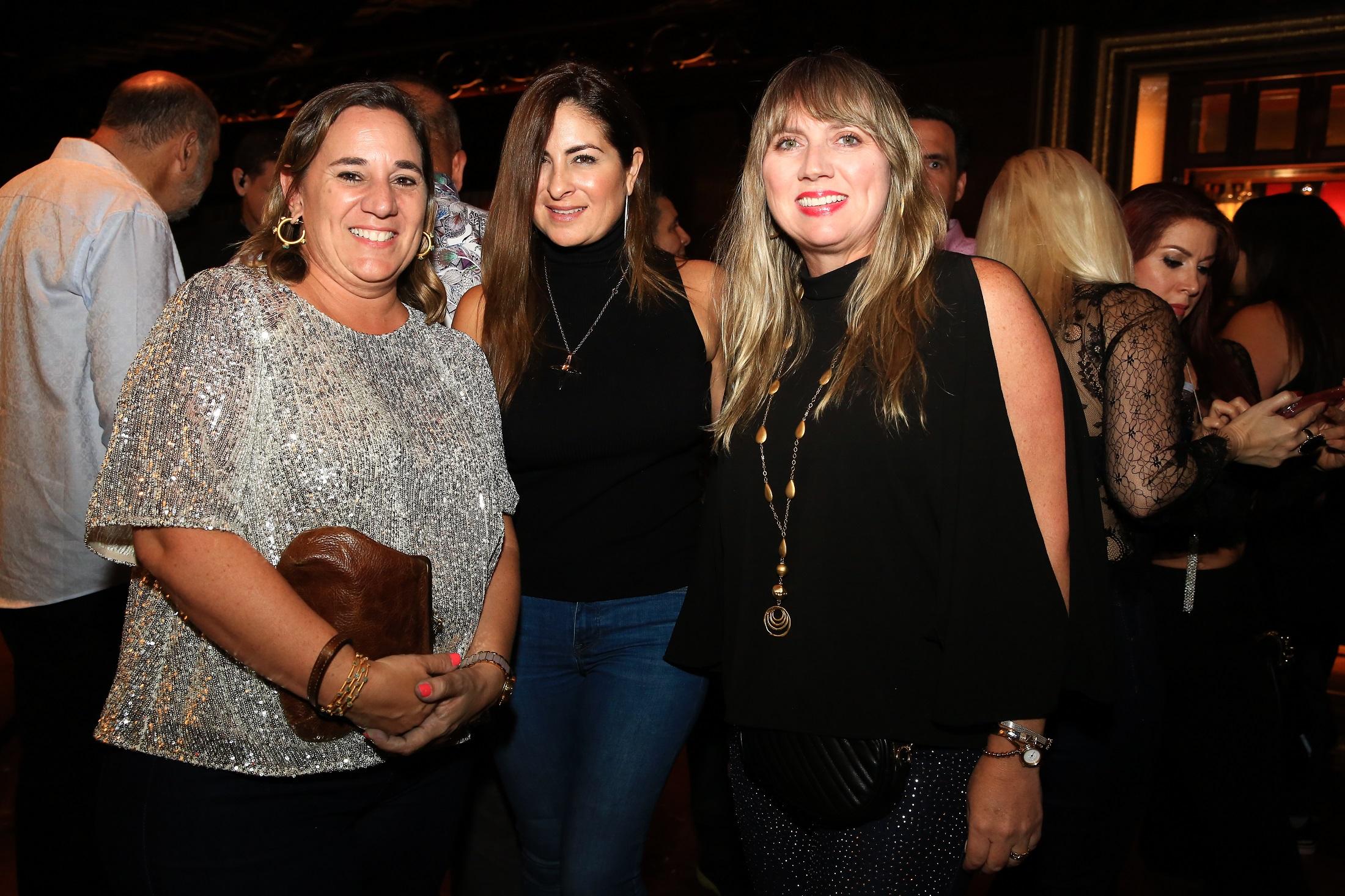 Jackeline Jergensen, Grishelda Díaz y Michelle Maranges. (Suministrada)