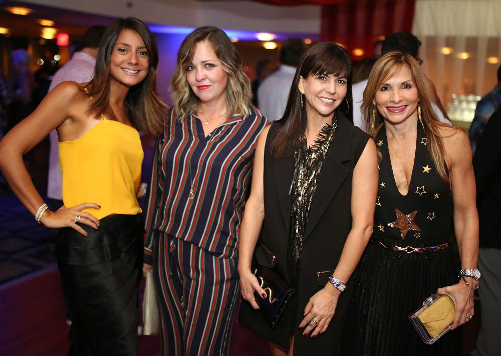 Verónica Leizan, Karina Nazario, Ingrid Guzmán y Cecil Rodríguez (Foto: José R. Pérez Centeno)