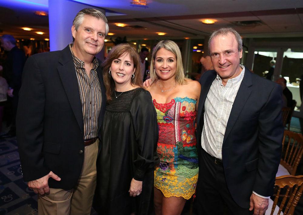Luis Gautier, Gisela Vigil, Alfredo Santaella y Mimi Ramos (Foto: José R. Pérez Centeno)