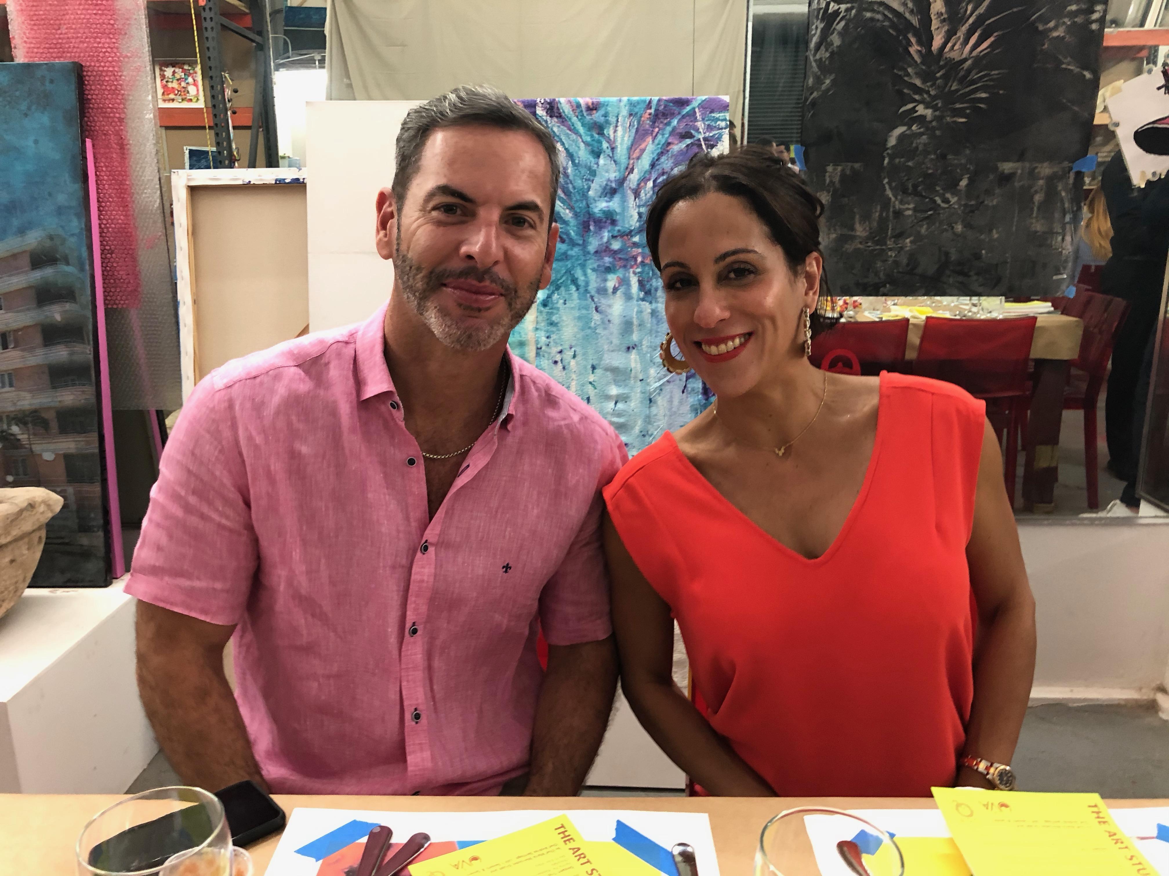 Carlos González y Fabiola Ansótegui. Foto suministrada
