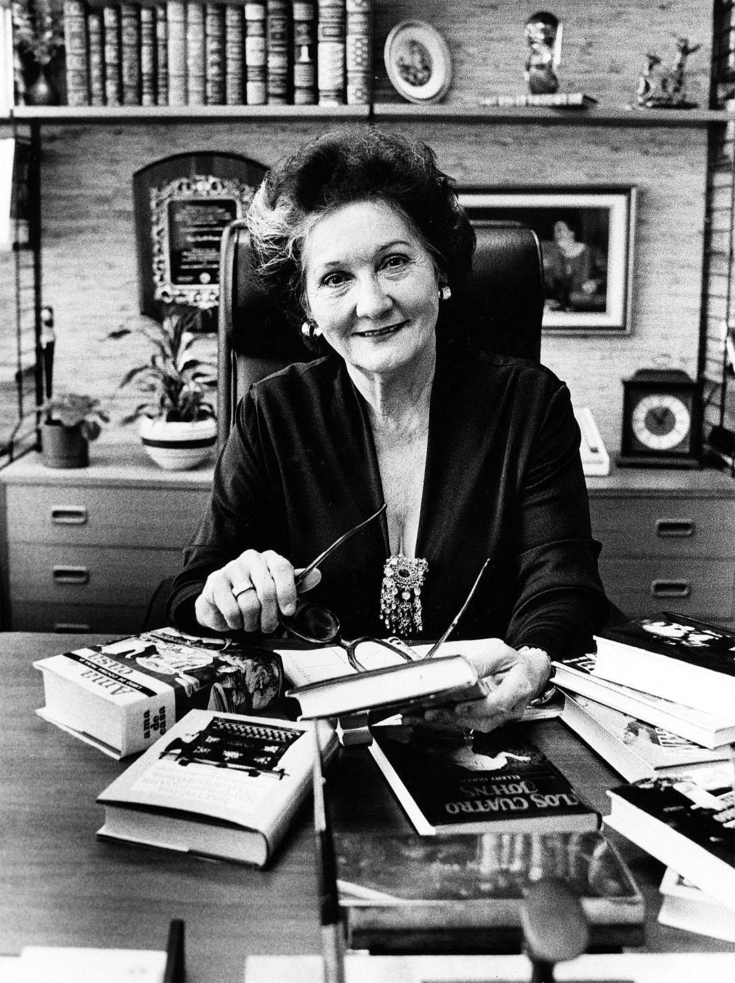 Ana G. Méndez (1908-1997): fundadora del sistema educativo que comprende hoy la Universidad Metropolitana, del Este y del Turabo. (Archivo)