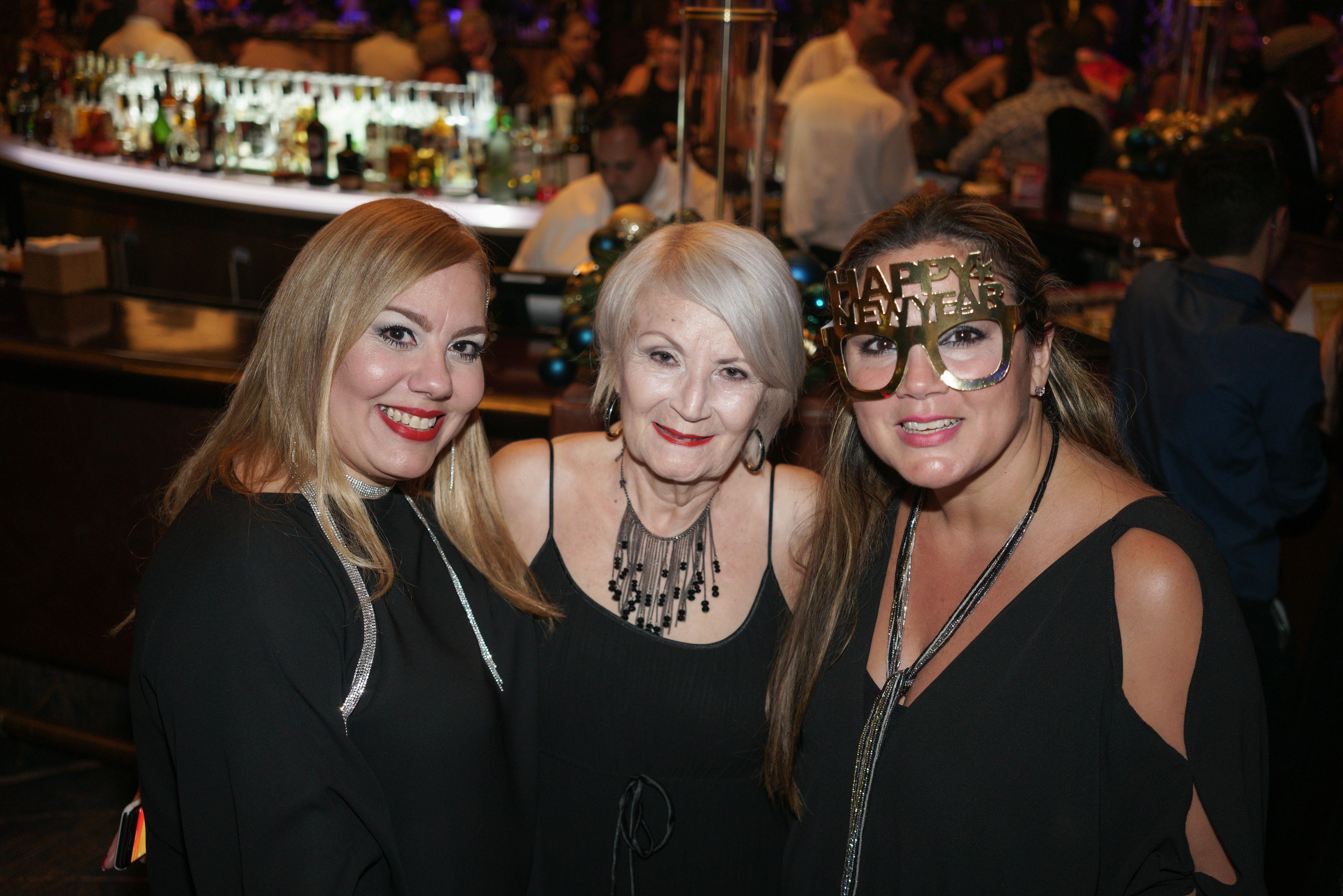 Betsy Pérez, Lucy Lugo y Liza Berríos. (Suministrada)