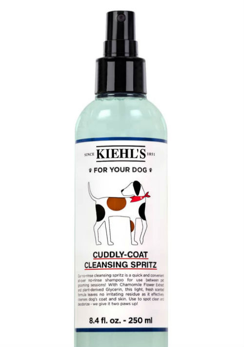 Spritz de limpieza para perros Cuddly-Coat de Kiehl's. (Foto: Suministrada)