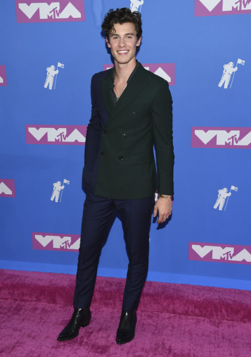 El cantante Sean Mendes. (AP)