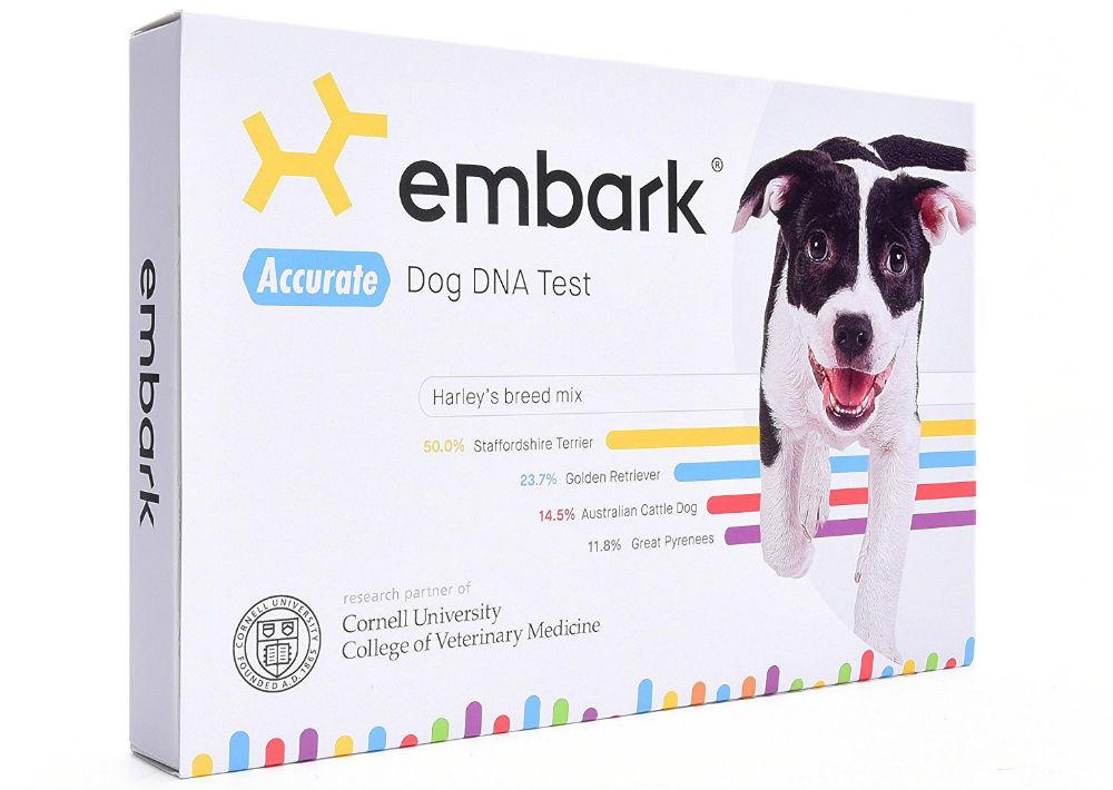 Prueba de ADN para perros de Embark. (Foto: Suministrada)