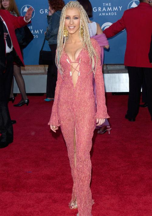 Christina Aguilera, 2001 (Shutterstock)