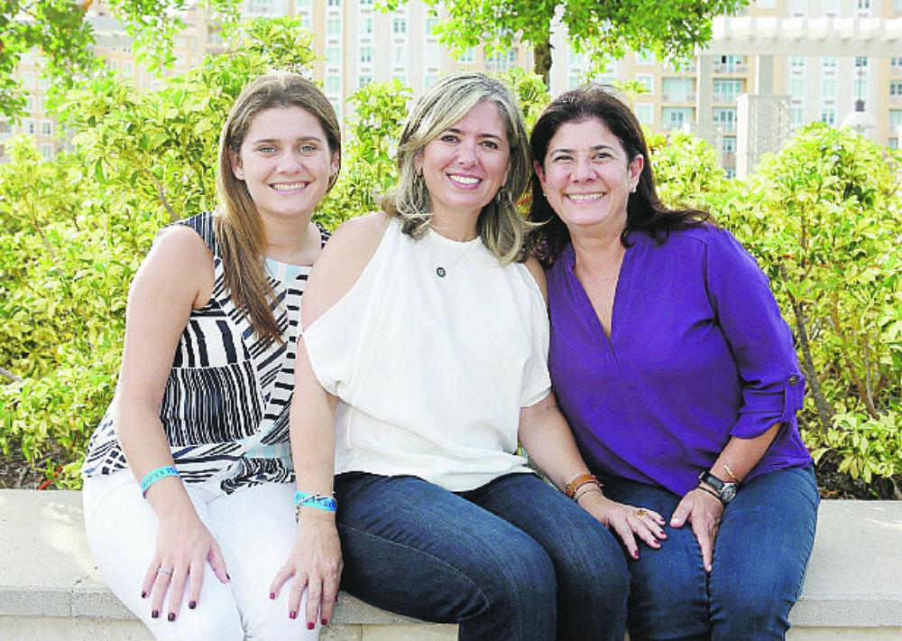 Isabel Wegrzyn, Nanette Córdova y Mildred Méndez. (Foto: José Rafael Pérez Centeno)