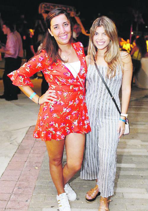 Morella Giordana y Carolina Ubiñas. (Foto: José Rafael Pérez Centeno)