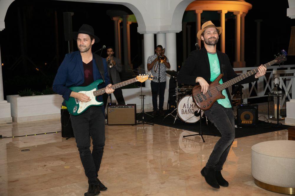 Jorge y Jose Colón de Almas Band. Foto suministrada