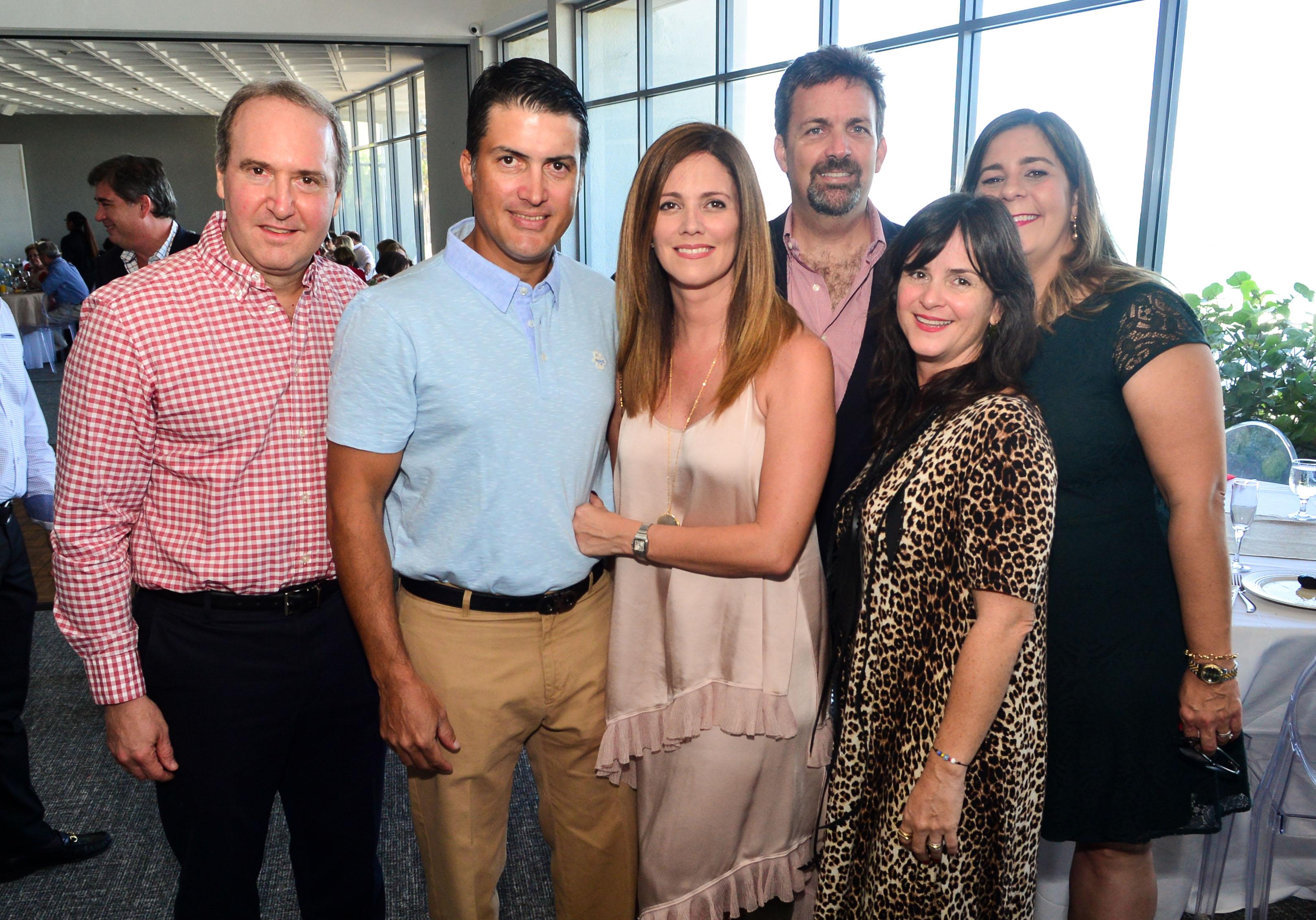 Jorge Jiménez, Alfredo Santaella, Máximo Blondet, Elba Arroyo, Javier Calderón, Glenis Castro y Ana Bobonis. Foto Enid M. Salgado Mercado.