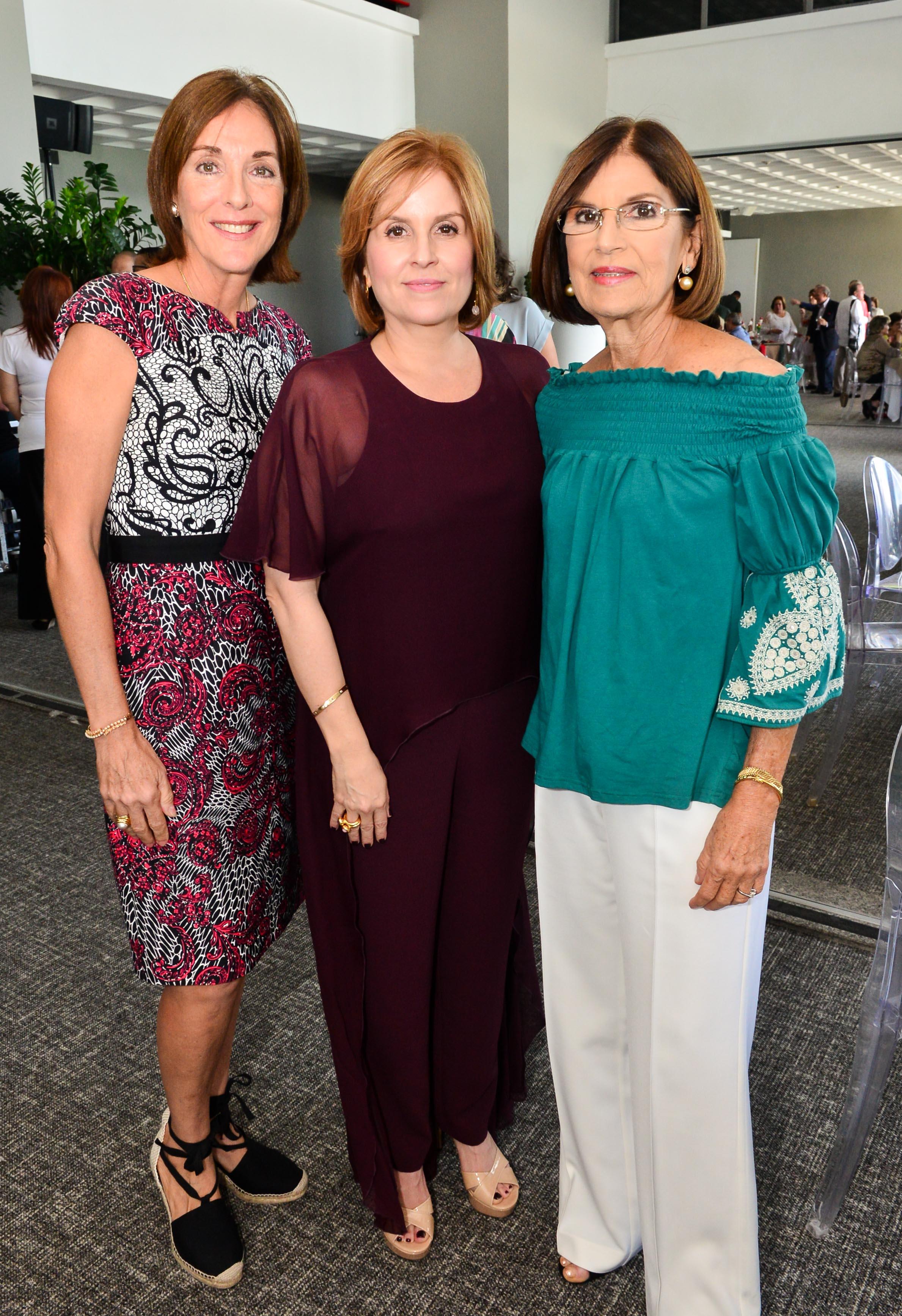Diana Caballero, Vivian García y Marta Fernández. Foto Enid M. Salgado Mercado