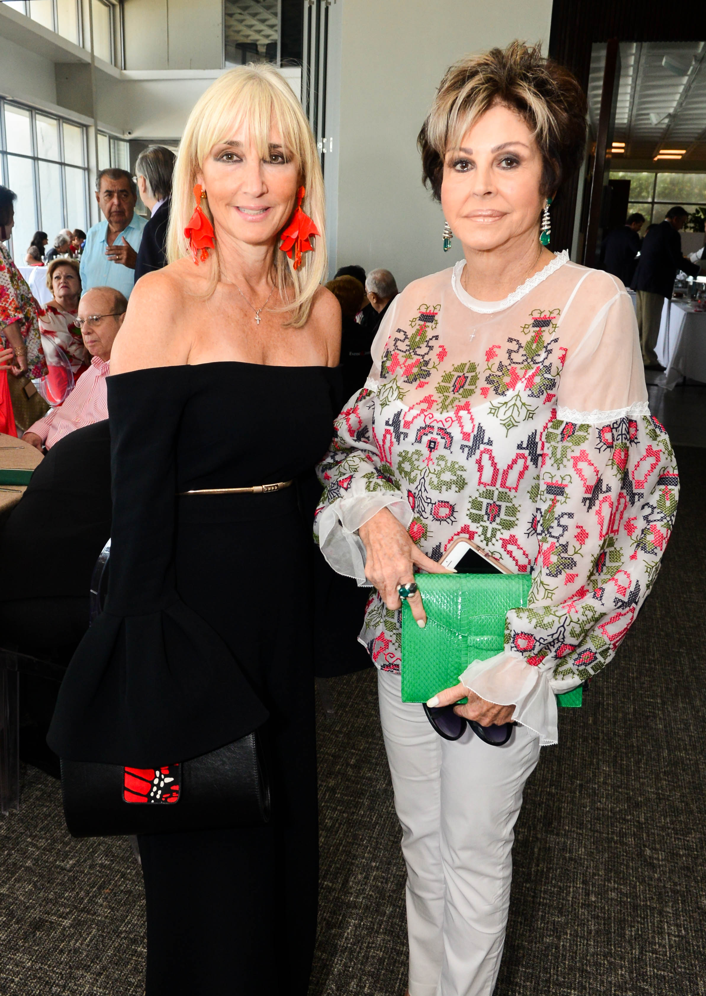 Mercy Short y Mercedes Imbert de Vizcarrondo. Foto Enid M. Salgado Mercado.