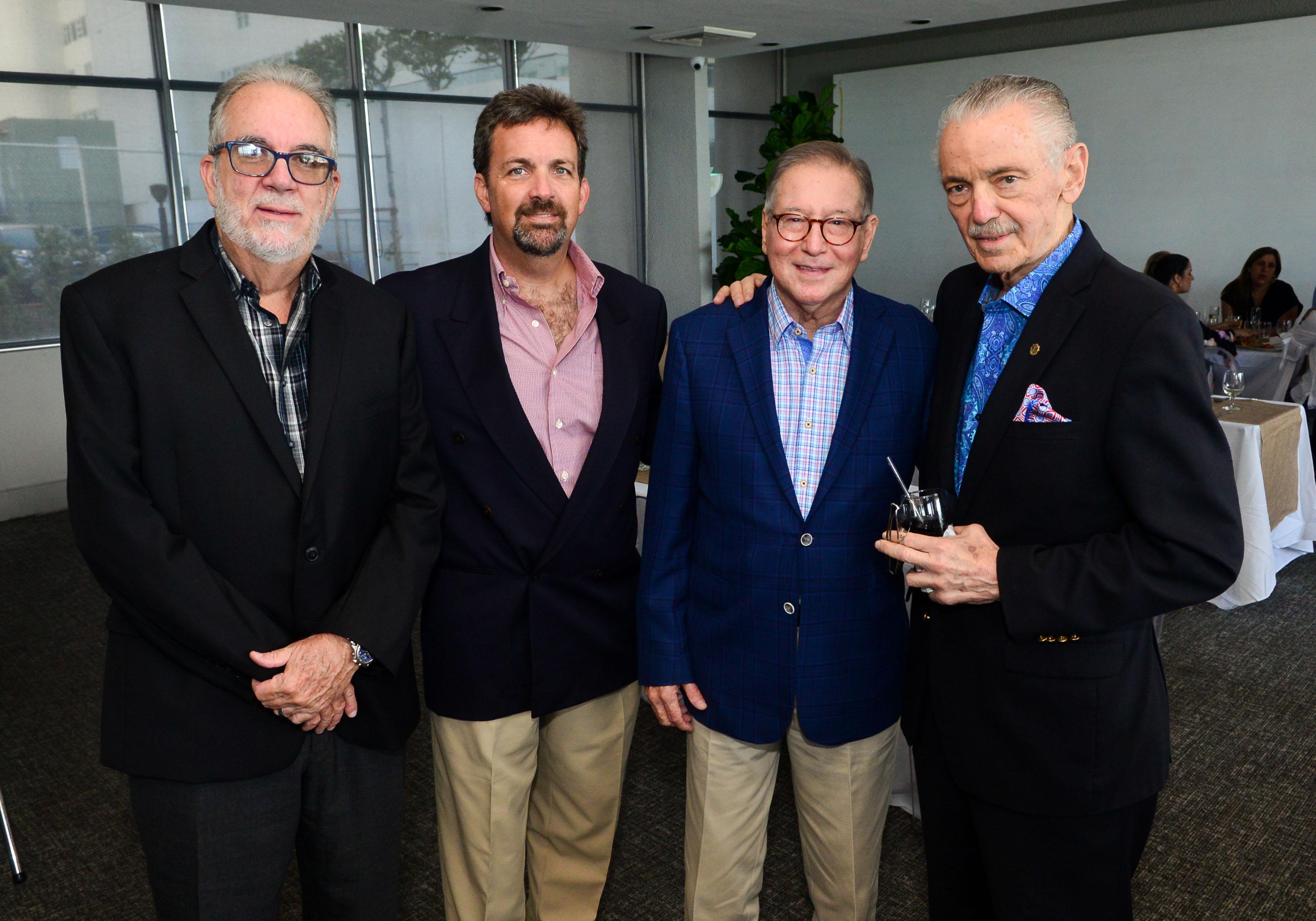 Santiago Gutiérrez, Javier Calderón, Howie De Jesús y Rafael Vizcarrondo. Foto: Enid M. Salgado Mercado.