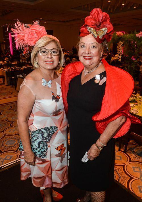 Zoraida Marrero, presidenta del Club y Madeline Maldonado de Camacho, primera vicepresidenta. Foto Enid M. Salgado Mercado.