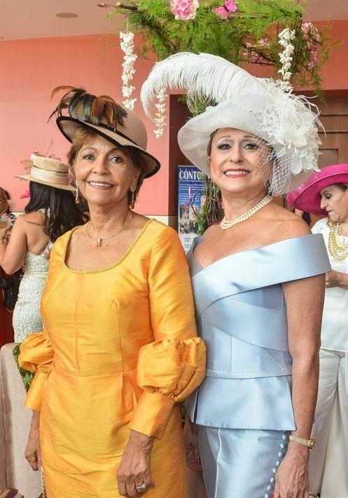 Caly Rodríguez y Josefina Royo Mendoza. Foto Enid M. Salgado Mercado.