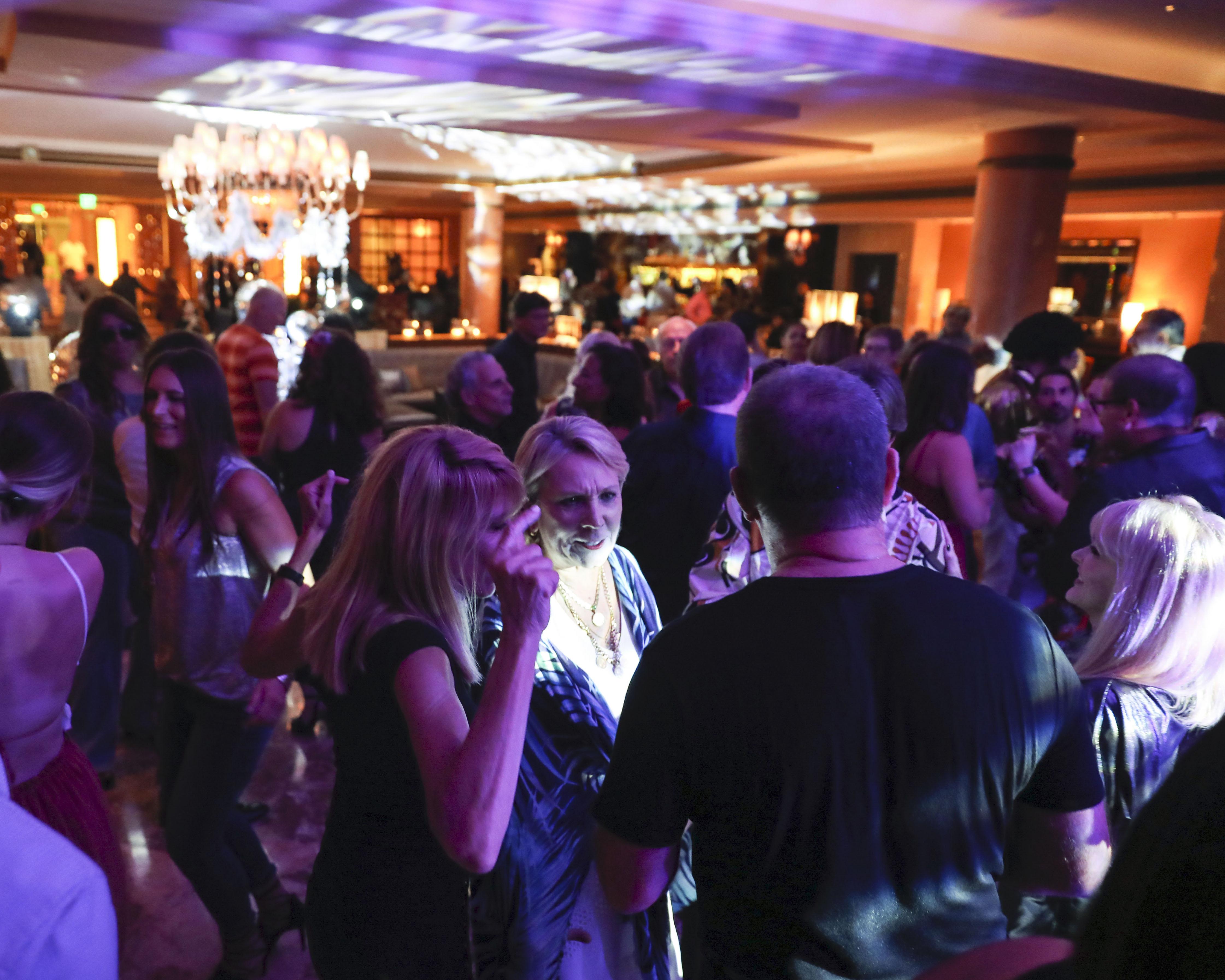 La fiesta estuvo inspirada en la glamorosa y mítica escena del club Studio 54 en Nueva York durante la década del 1970. (Suministrada)