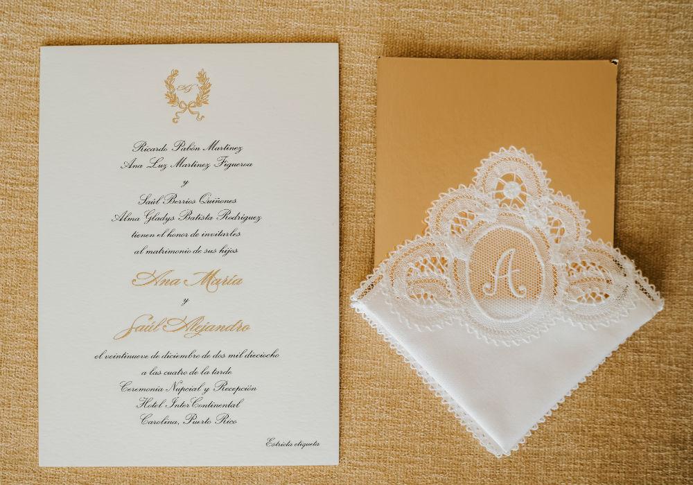 Ceremonia y recepción: Hotel InterContinental. (Suministrada)