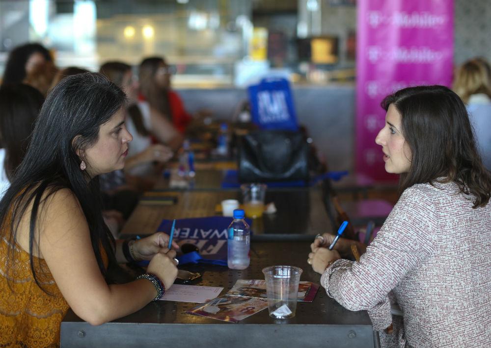 Los talleres surgen como una respuesta a las peticiones de muchas mujeres interesadas en conocer más historias de éxitos en un momento tan difícil. (Foto: Teresa Canino)
