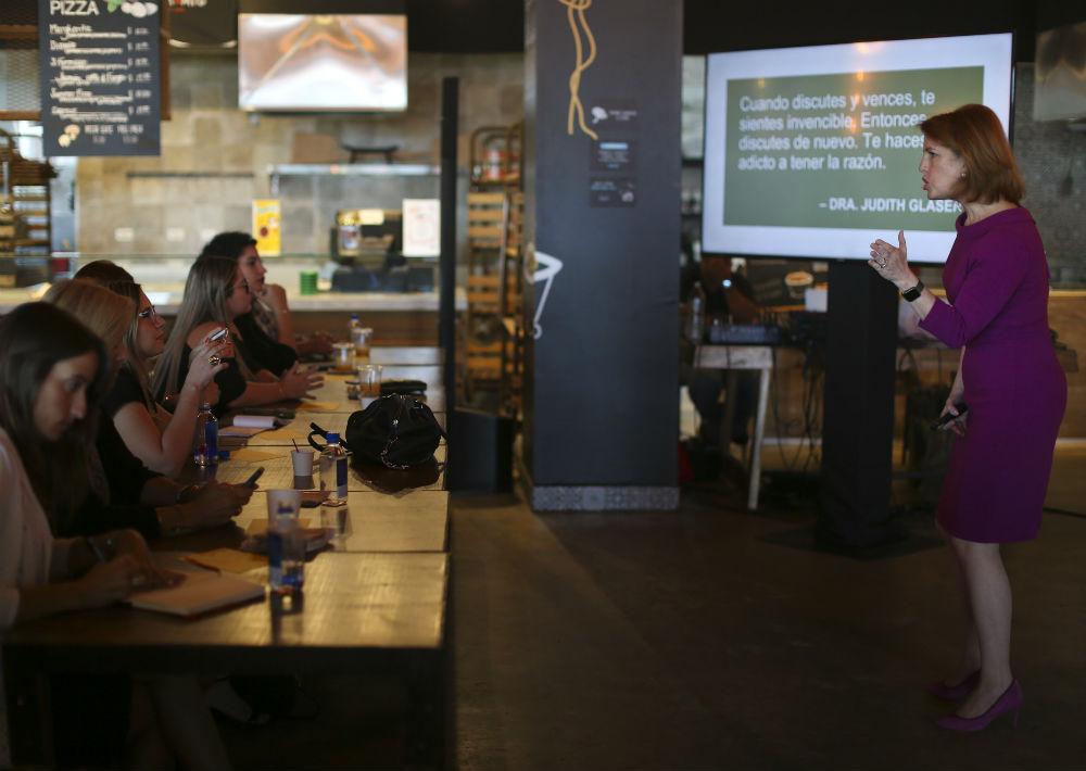 El encuentro se llevó en IL Nouvo Mercato, en The Mall of San Juan. (Foto: Teresa Canino)