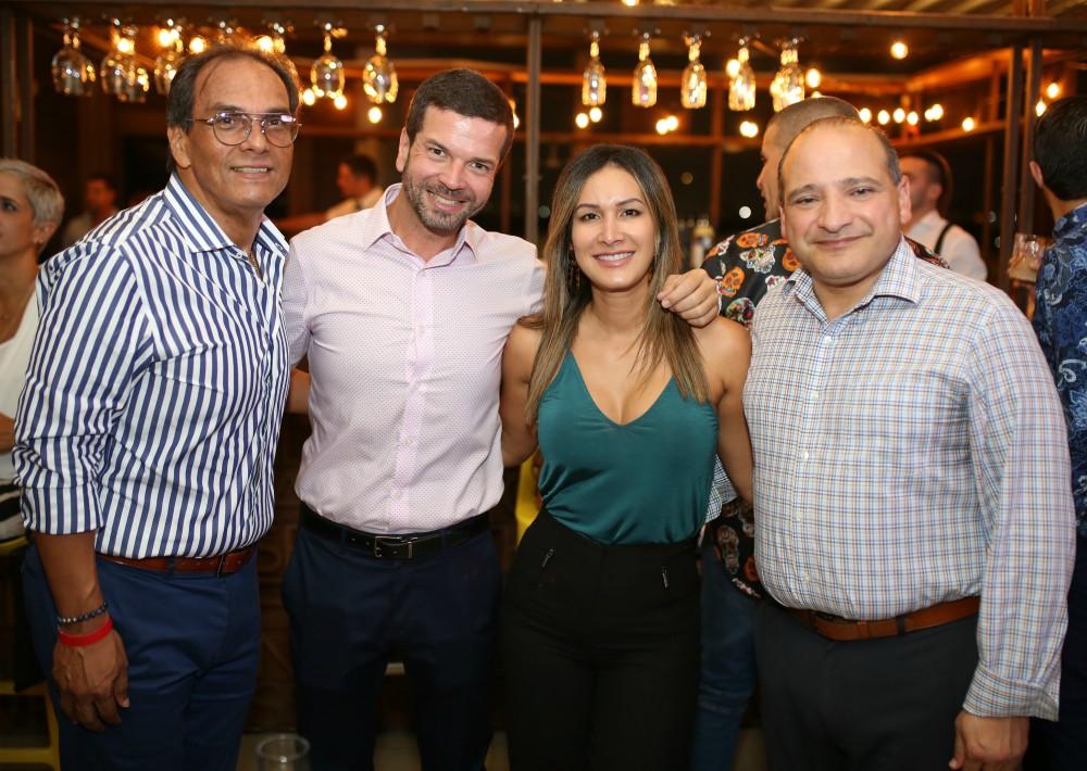 Benedicto Marrero, Carlos Laureano, Reinalis Torres y Francisco Pérez. (Foto: José R. Pérez Centeno)