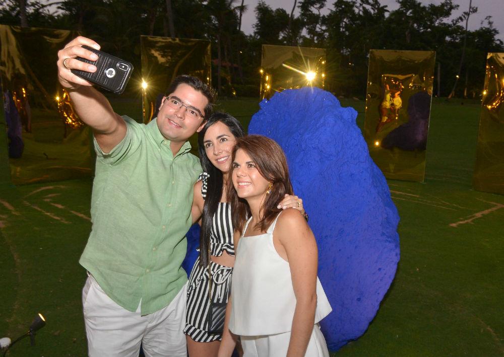 Isaac Landaeta, María Angulo y Anabelle Delgado (Foto: Enid Salgado Mercado)