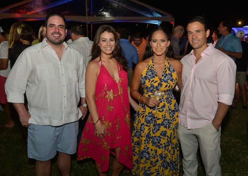 Christian Sobrino, Valerie Rodríguez, Isamari Nieves y Gilberto Ramírez (Foto: Enid Salgado Mercado)