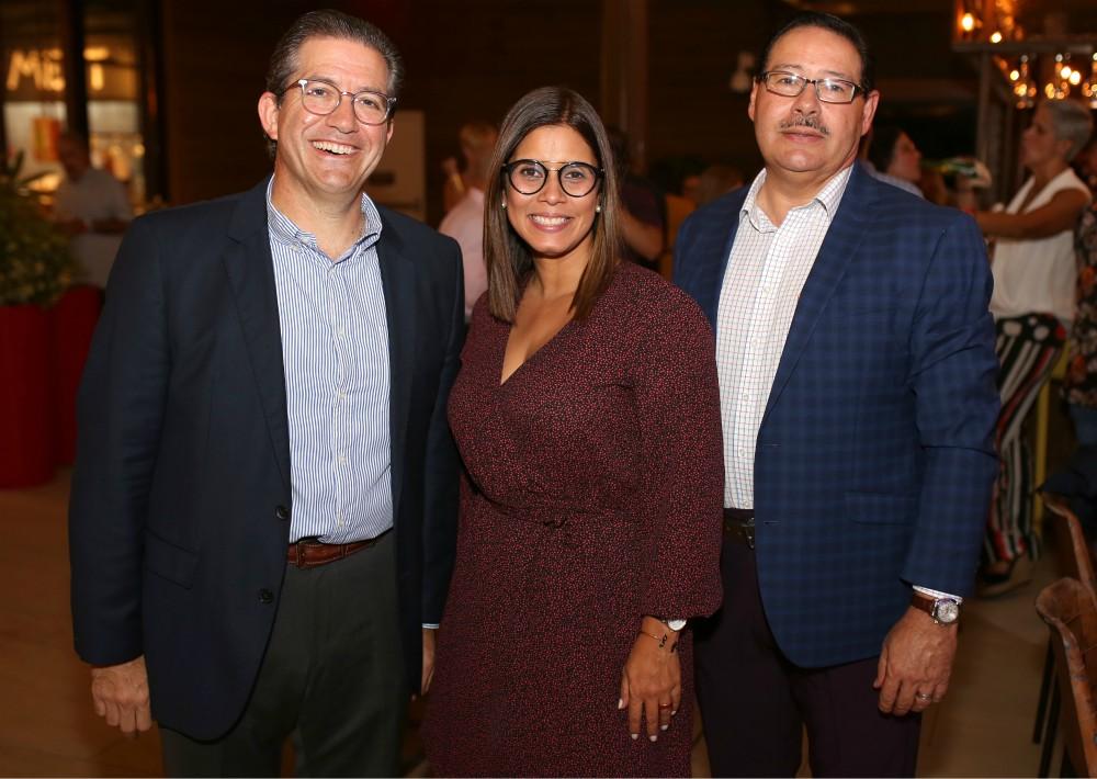 Alan Cohen, Melissa Figueroa y Ángel Rodríguez. (Foto: José R. Pérez Centeno)
