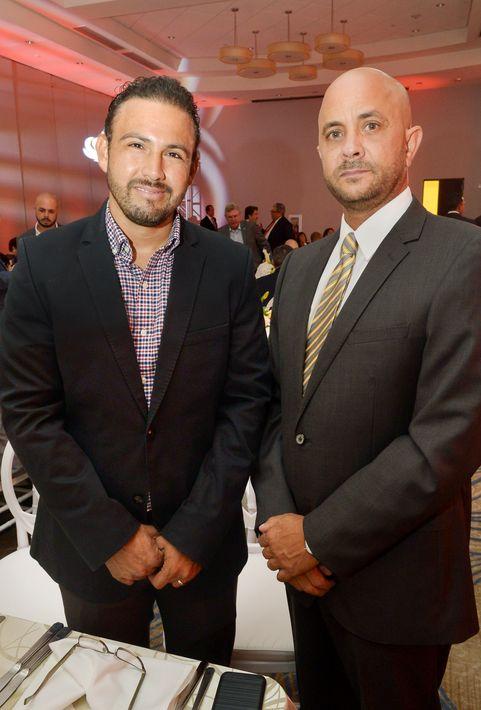 Ángel Alvarado y José Bermúdez