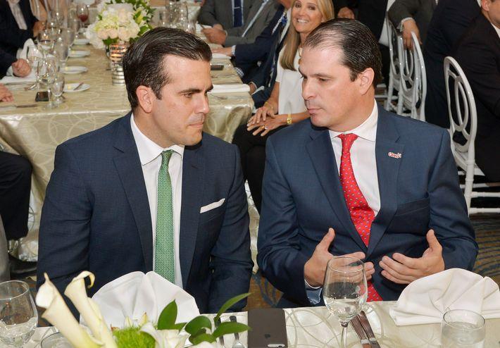 Ricardo Rosselló y Enrique Ortiz de Montellano