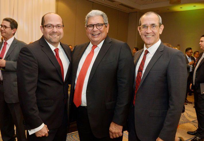 Frankie Cruz, Pedro Andrés y Francisco Silva