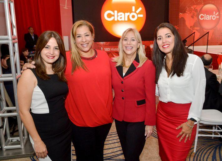 Laura Peña, Wanda Arroyo, Vivian Fortuño y Karen Santana