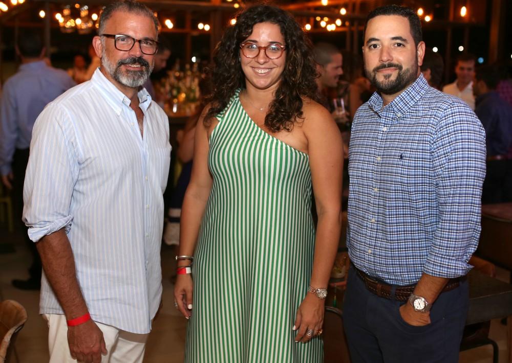 Jaime Bauzá, Marian Medina y Luis García. (Foto: José R. Pérez Centeno)
