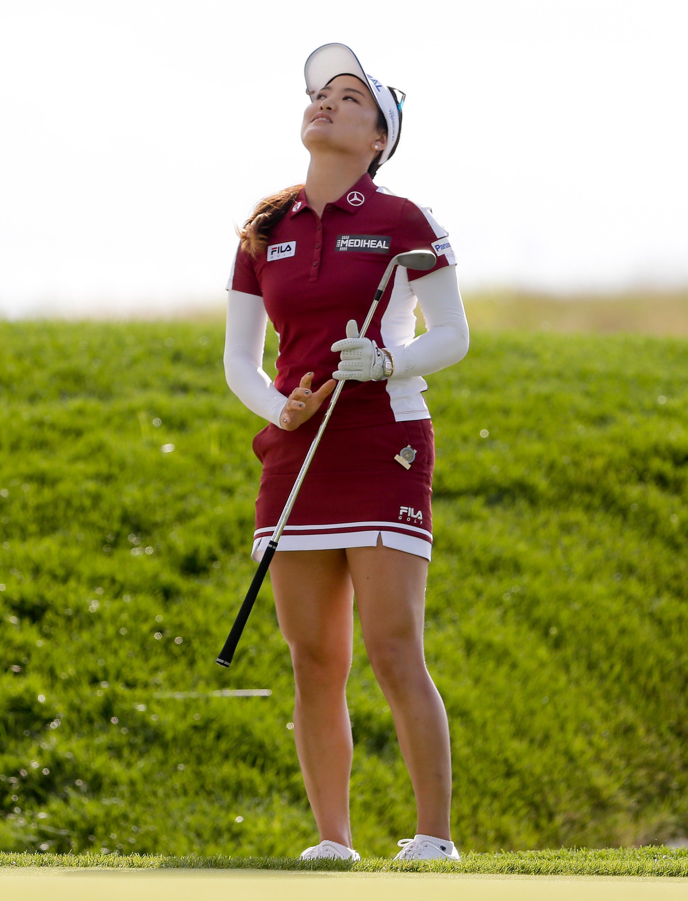 La surcoreana So Yeon Ryu, una de las jugadoras amantes de la minifalda en el golf. Foto AP.