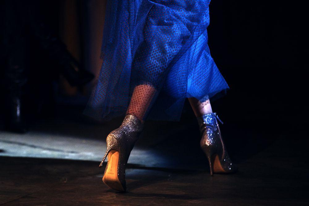 Desfile de Carolina Herrera durante la Semana de la Moda de Nueva York. (Foto: AP)