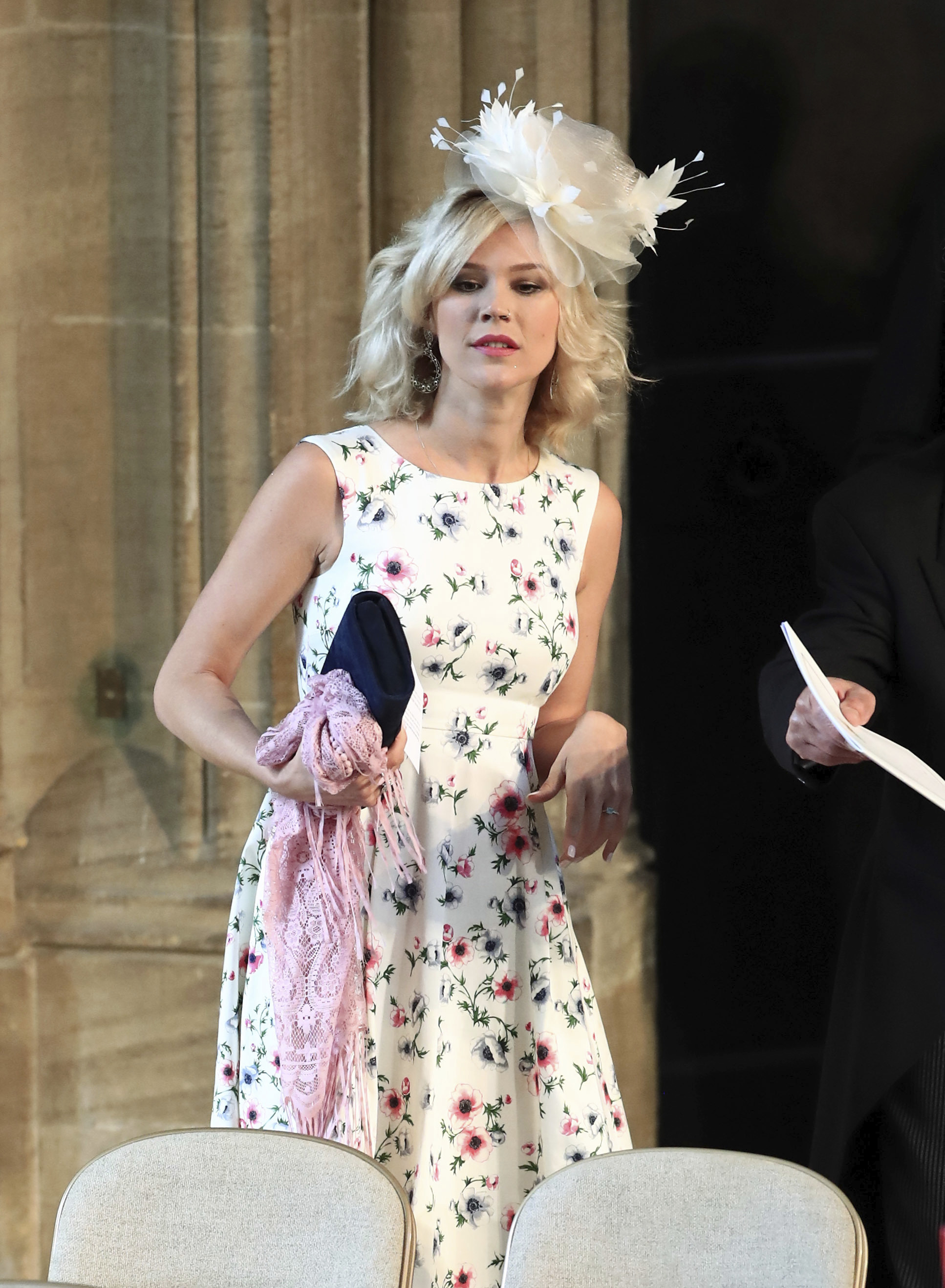 La cantante Joss Stone en la boda del príncipe Harry y Meghan. (Foto: AP)