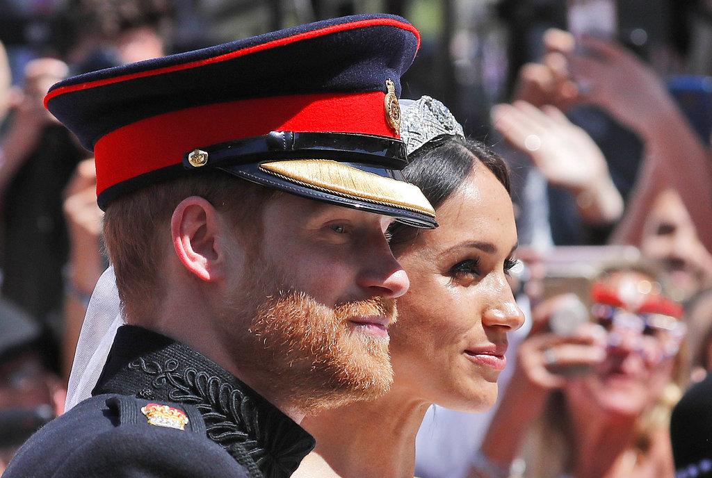 La pareja, feliz por las calles de Windsor. (Foto: AP)