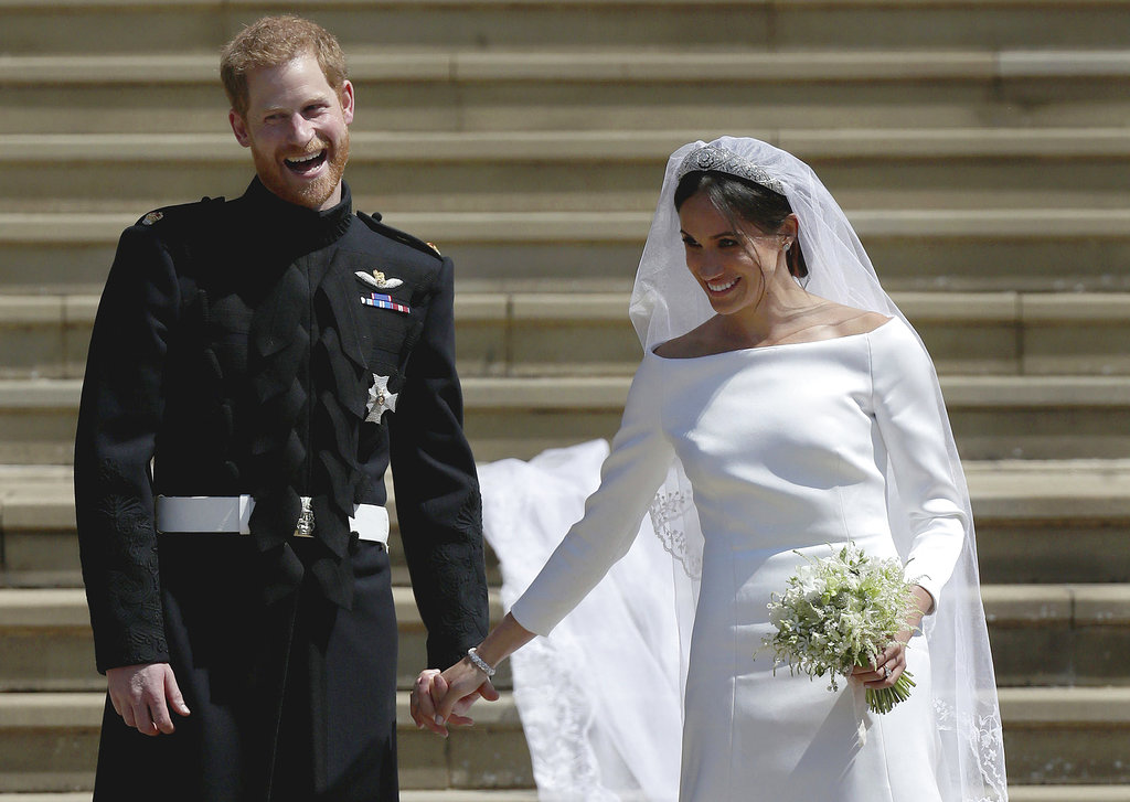 A purs sonrisa, Meghan y Harry muestran su felicidad ante la gente. (Foto: AP)