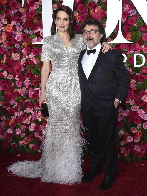 Tina Fey y Jeff Richmond. (AP)