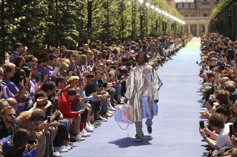 Colección Primavera-Verano 2019 de Louis Vuitton Hombre. (Foto: AP)