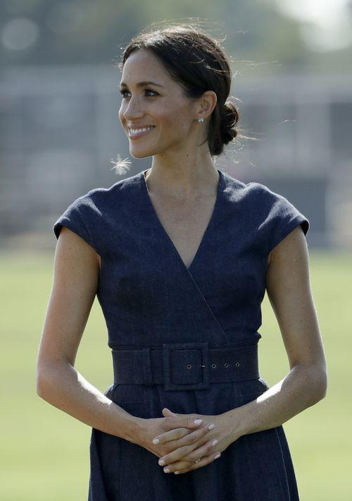 El evento benéfico fue celebrado en el Berkshire Polo Club, en Windsor. (AP)