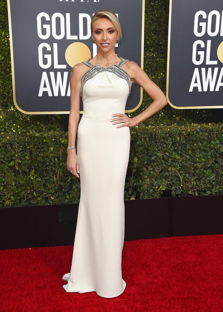 La presentadora Giuliana Rancic a su llegada a la ceremonia de los Golden Globes en el Beverly Hilton Hotel, California. (Foto: AP)