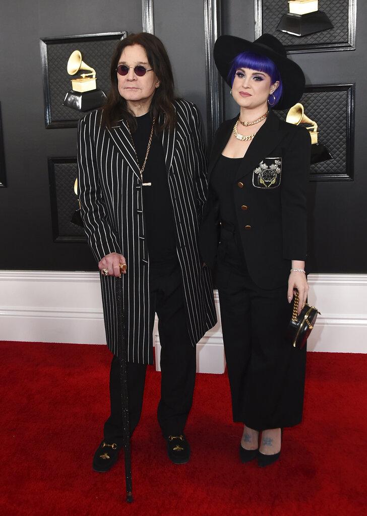 Ozzy Osbourne y Kelly Osbourne. (AP)