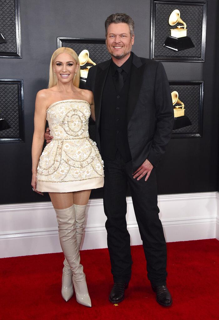 Gwen Stefani and Blake Shelton. (AP)