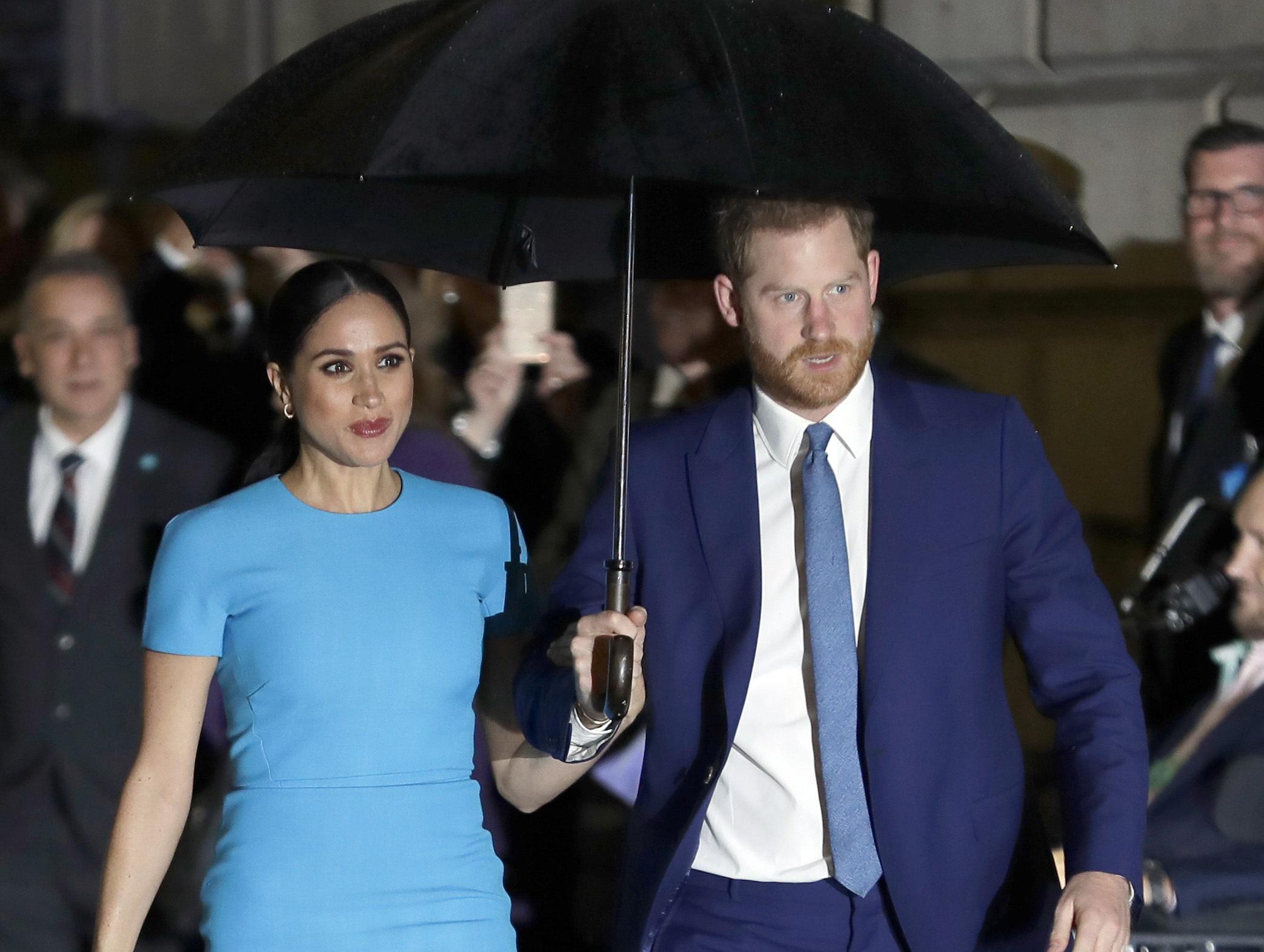 Se espera que en ese último evento oficial la pareja se una a la reina Elizabeth II, a los príncipes Charles y William y a la duquesa de Cambridge. (AP)