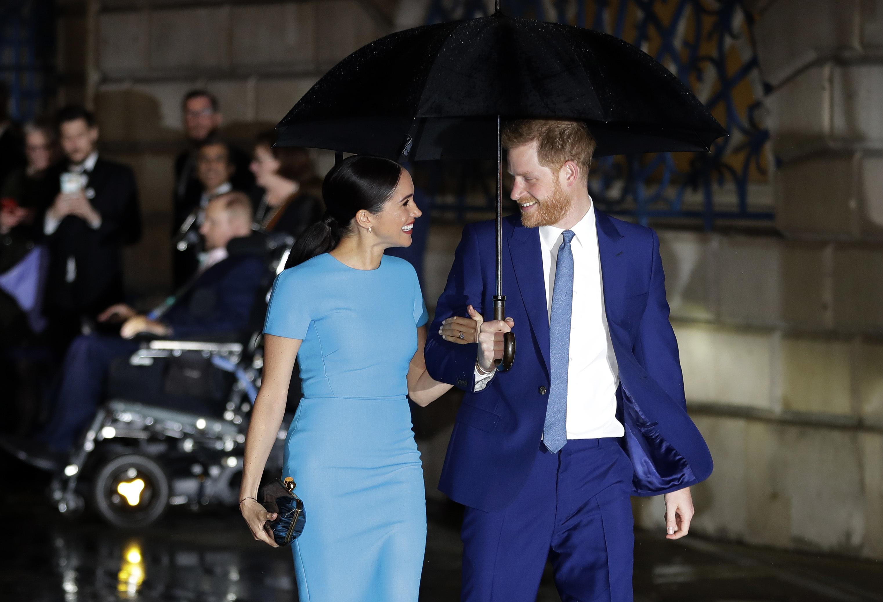 La pareja participó de la entrega de los Endeavour Fund Awards. (AP)